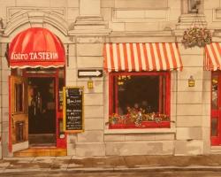 Bistro Tastevin, 12x20