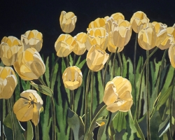 Yellow Tulips 22x30